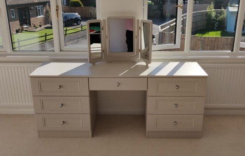 Light Grey Dressing Table