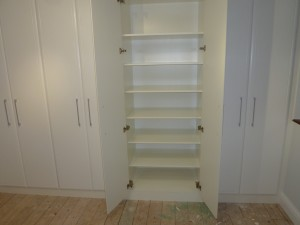 SWA 3 Full Shelved Wardrobe